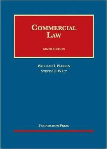 Commercial Law (University Casebook Series)