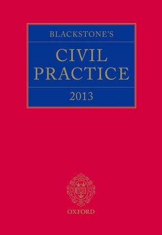 Blackstone's Civil Practice 2013