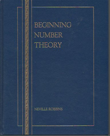 Beginning Number Theory