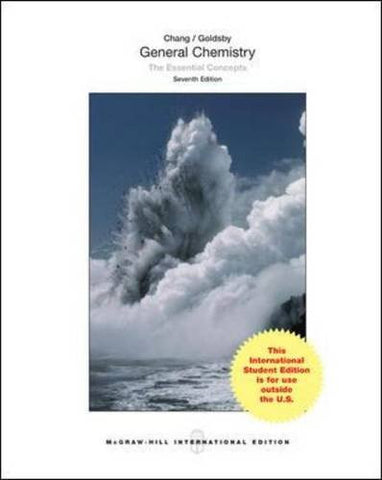 General Chemistry: The Essential Concepts (WCB Chemistry)