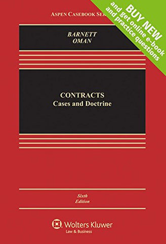 Contracts: Cases and Doctrine [Connected Casebook] (Aspen Casebook)