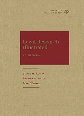 Legal Research Illustrated (University Treatise Series)
