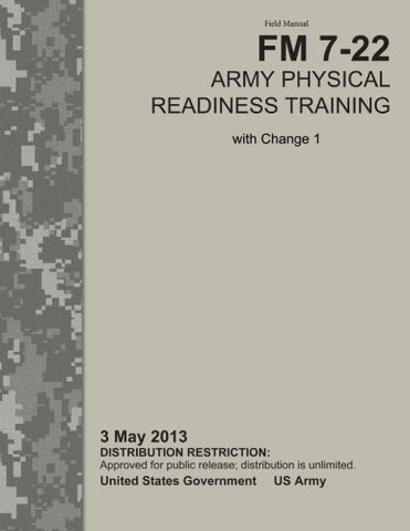Field Manual FM 7-22 Army Physical Readiness Training with Change 1   3 May 2013