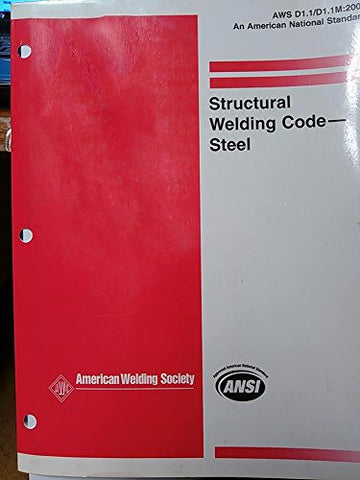 Structural Welding Code--Steel