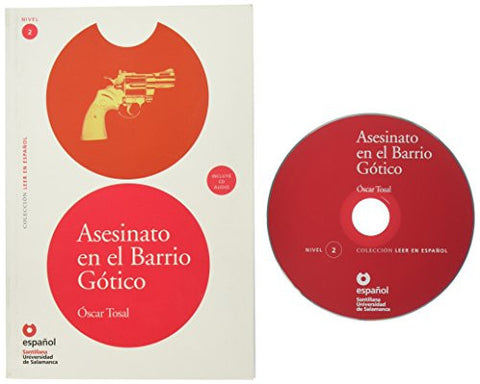 Asesinato en el Barrio Gotico (Libro+CD) (Leer En Espanol Level 2) (Spanish Edition)