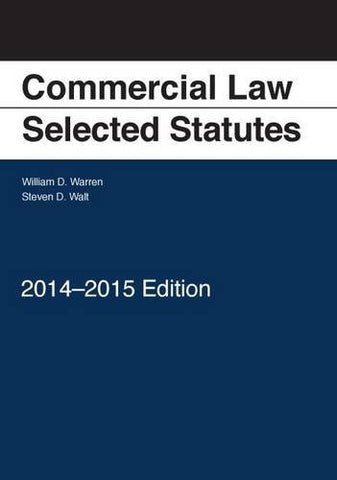 Commercial Law: Selected Statutes