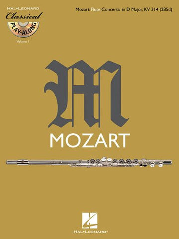 Flute Concerto in D Major, K. 314: Classical Play-Along Volume 1