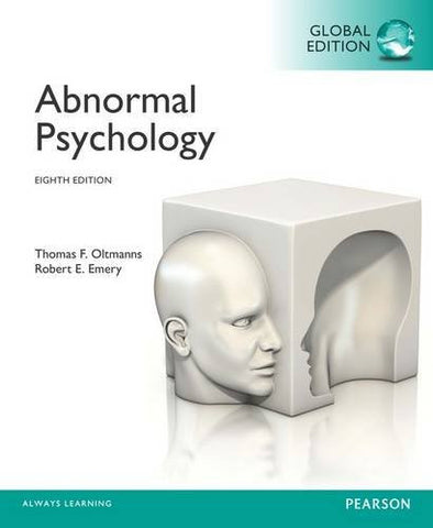 Abnormal Psychology: (8th Edition)