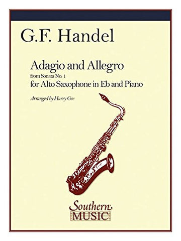 Adagio and Allegro: Alto Sax