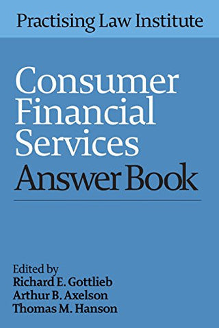 Consumer Financial Services Answer Book 2016