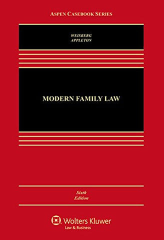 Modern Family Law: Cases and Materials (Aspen Casebook)