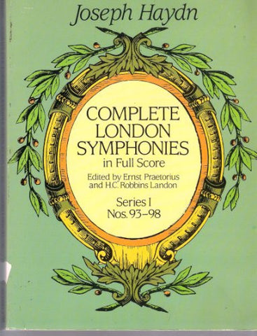 Complete London Symphonies in Full Score, Series 1
