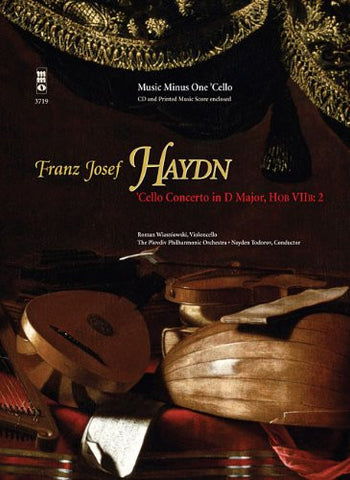 Haydn Violoncello Concerto Ind Major Hobviib 2 Book/2 CD Set