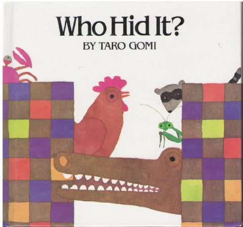 Who Hid It, Gomi, Pre - K (Discovery Books for Toddlers)