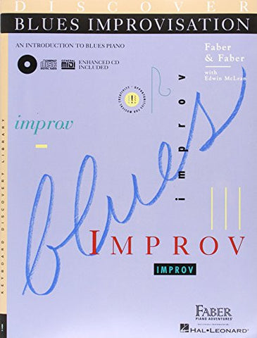 DISCOVER BLUES IMPROVISATION W/CD (Keyboard Discovery Library)