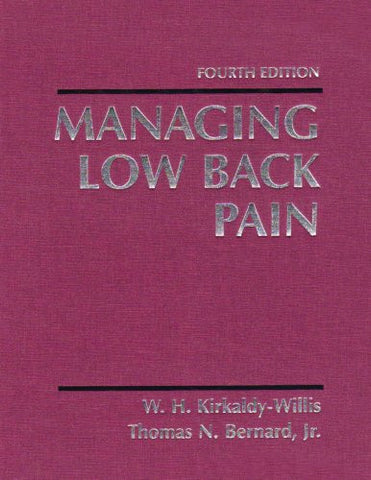 Managing Low Back Pain, 4e