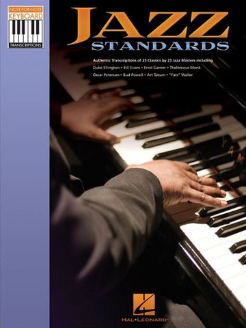 Jazz Standards Note for Note Piano Transcriptions (Note-for-Note Keyboard Transcriptions)
