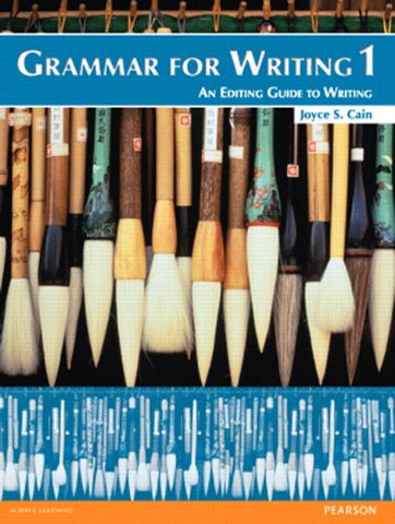 Grammar for Writing 1: (2nd Edition)
