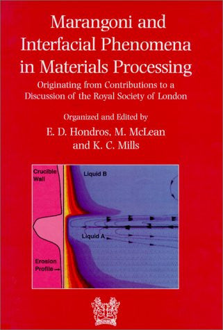 Marangoni and Interfacial Phenomena in Materials Processing: Originating from Contributions to a Discussion of the Royal Society of London (Matsci