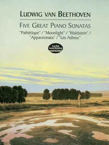 Five Great Piano Sonatas (Dover Music for Piano)