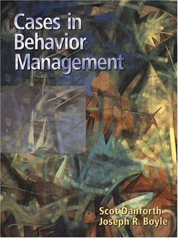 Cases in Behavior Management (2nd Edition)