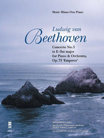 Beethoven Concerto No5 Op73 E Flat Major For Piano And Orchestra 'Emperor' Book/2CDs