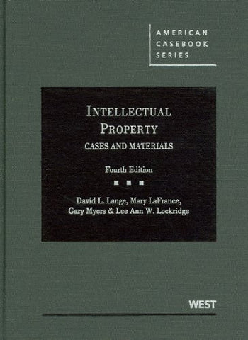 Intellectual Property Cases and Materials