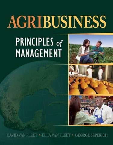 Agribusiness: Principles of Management