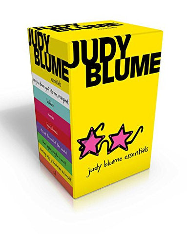 Judy Blume Essentials: Are You There God? It's Me, Margaret; Blubber; Deenie; Iggie's House; It's Not the End of the World; Then Again, Maybe I Wo