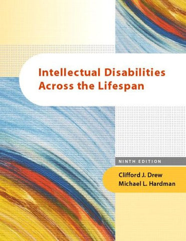 Intellectual Disabilities Across the Lifespan: (9th Edition)