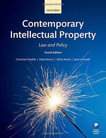 Contemporary Intellectual Property: Law and Policy, 4th Ed.