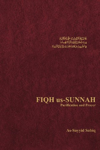 Fiqh Us-Sunnah  Purification and Prayer