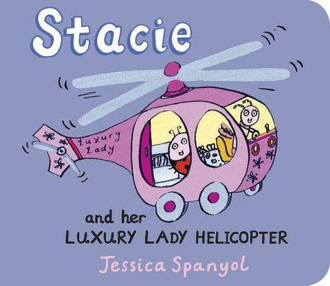 Stacie and Her Luxury Lady Helicopter