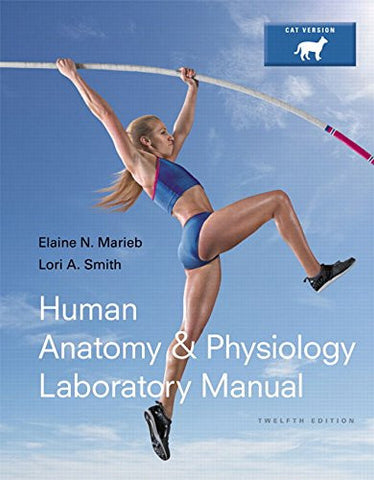 Human Anatomy & Physiology Laboratory Manual, Cat Version Plus MasteringA&P with eText -- Access Card Package: (12th Edition) (Marieb & Hoehn Huma