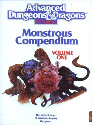 Advanced Dungeons and Dragons, Vol. 1: Monstrous Compendium
