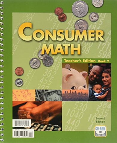 Consumer Math, Teacher's Edition, 2nd Edition (2 Books)