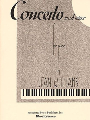 Concerto in A Minor: Piano Solo (Piano Large Works)