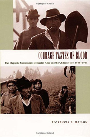 Courage Tastes of Blood: The Mapuche Community of Nicolás Ailío and the Chilean State, 1906–2001 (Radical Perspectives)