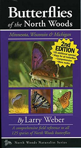 Butterflies of the North Woods, 2nd Edition (Naturalist Series)