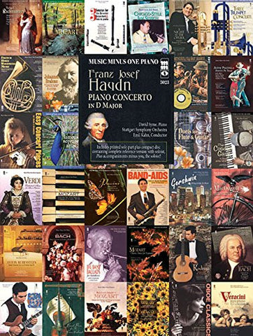 Franz Josef Haydn Piano Concerto In D Major Book And CD