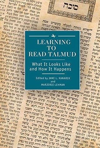 Learning to Read Talmud: What It Looks Like and How It Happens