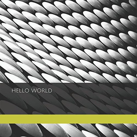 Hello World: Square Blank Journal : Selfridges Cover (The Gentleman Wayfarer Journal Series)