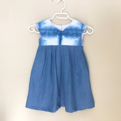 Hand Dyed Girl's Dress