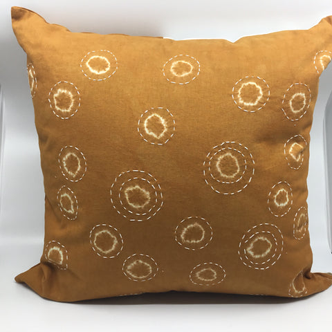 Unique Embroidered Throw Pillow