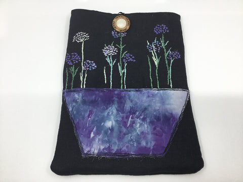 Embroidered iPad Cover