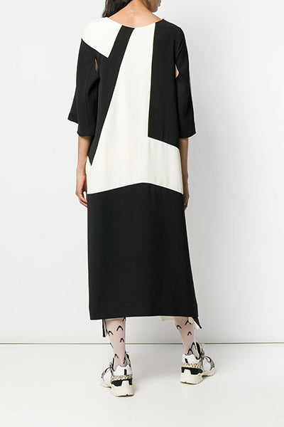 Field Dress - Black & White Cuts