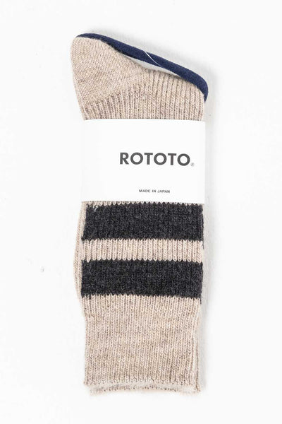 Reversible Mohair Socks