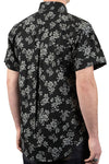 Short Sleeve Easy Shirt - Floral Sketch