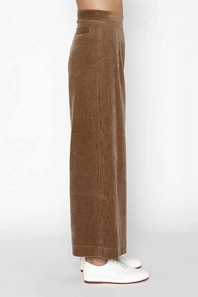 Corduroy Wide-Legged Trouser