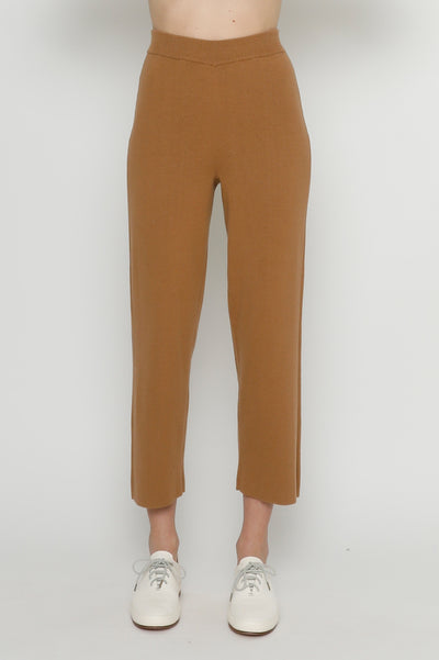 Pull-Up Knit Trouser